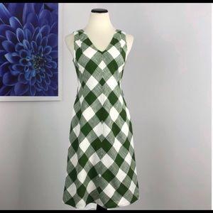 Talbots belted dress
